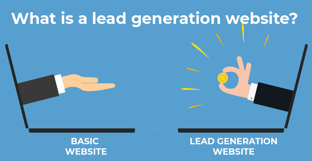 What is a lead generation website?