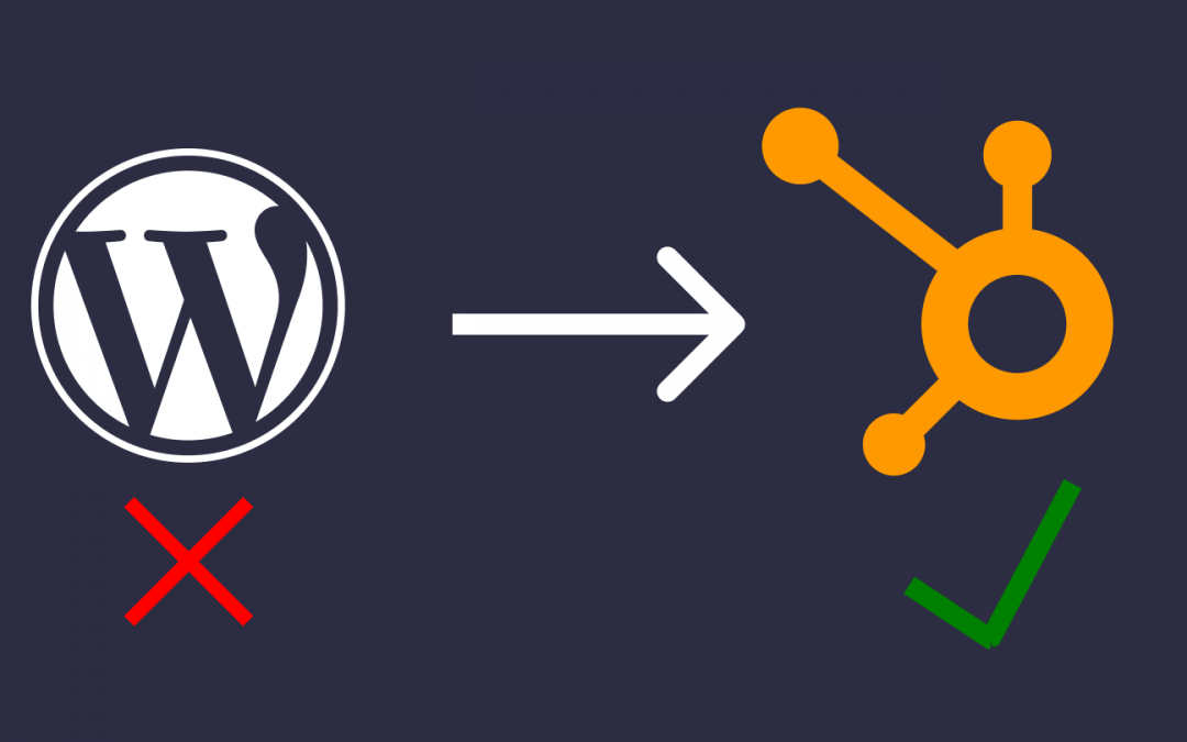 How To Move Your WordPress Website To HubSpot